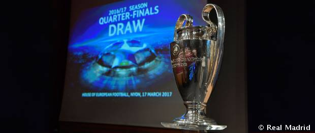 Sorteo de cuartos de final de la Champions League