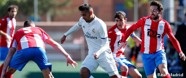 Navalcarnero - Real Madrid Castilla