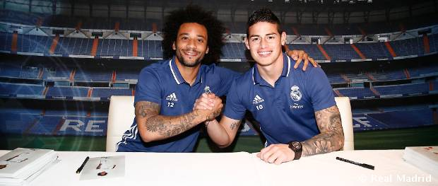 Firmas del Real Madrid