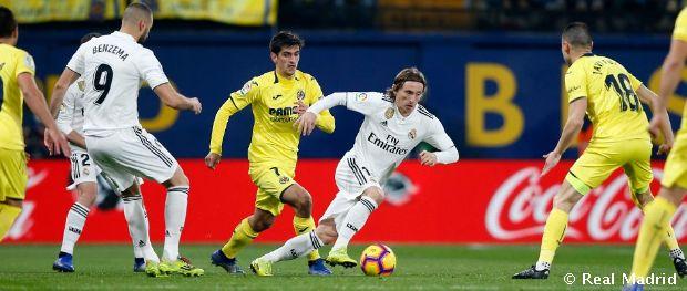 Villarreal Real Madrid La Liga Matchday Real Madrid CF