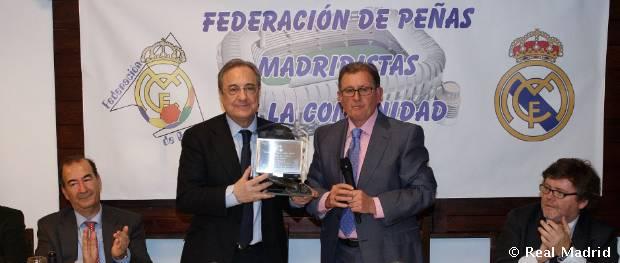 Aniversario de la Federación Peñas Madridistas de la Comunidad de Madrid