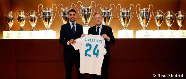 Presentación de Dani Ceballos como jugador del Real Madrid