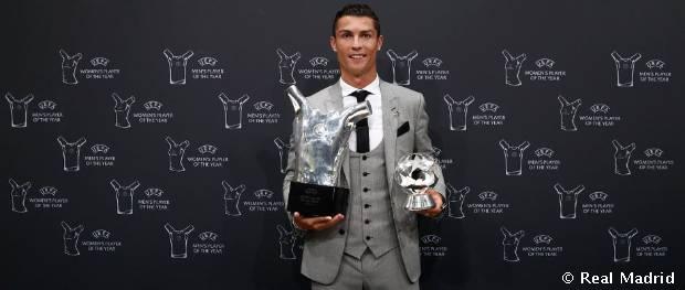 Cristiano Ronaldo, mejor jugador de la UEFA 16-17