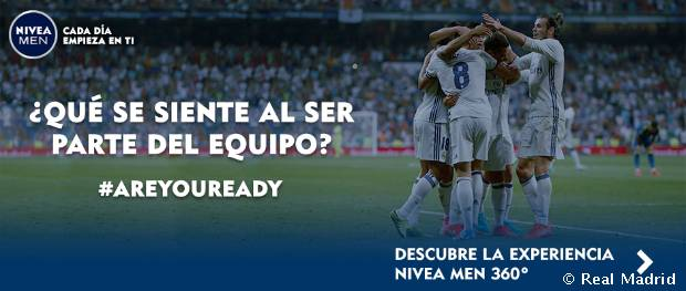 Experiencia 360 NIVEA MEN - Real Madrid
