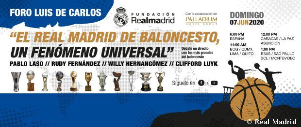 Foro Luis de Carlos online: 'El Real Madrid de baloncesto, un fenómeno universal'