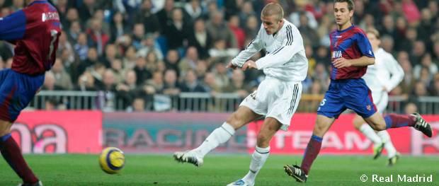 David Beckham Official Website Real Madrid Cf