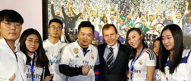 Real madrid china summit in beijing real madrid cf for Oficina wizink madrid