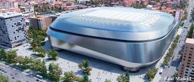 El futuro Santiago Bernabéu  c0f02d2165897