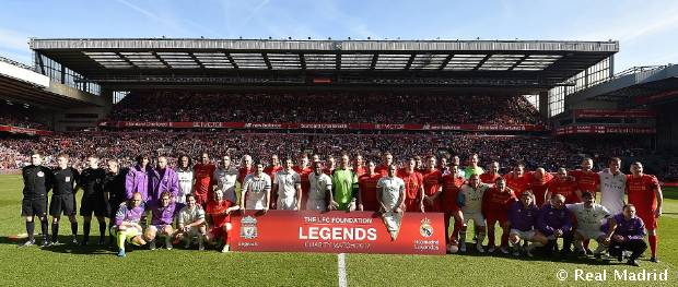 Liverpool Legends - Real Madrid Legends