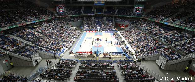 Wizink Center Real Madrid Basketball Arena Real Madrid Basketball