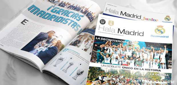 Revistas Hala Madrid y Hala Madrid Junior
