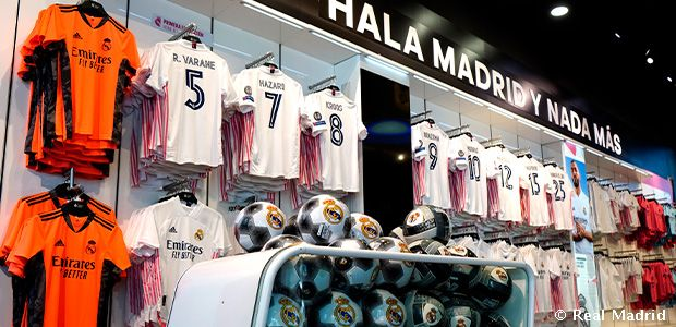Discounts on Real Madrid products with your Madridista Card