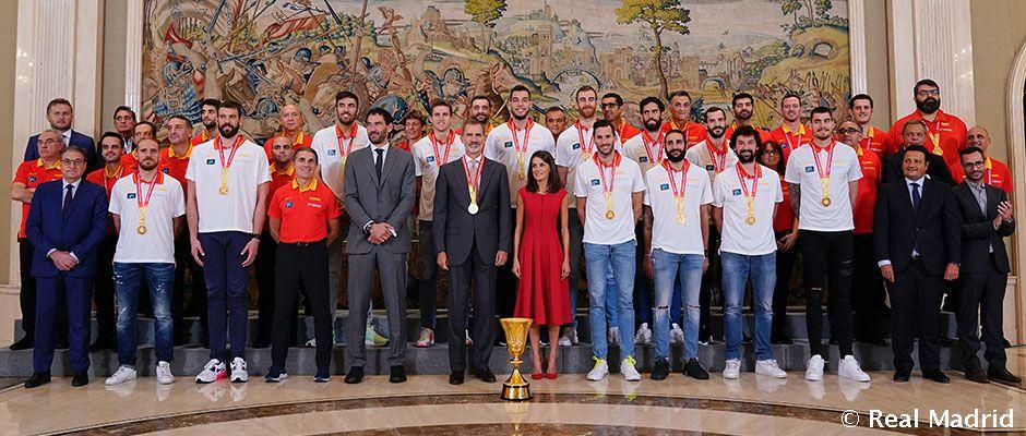 Así fue la celebración de los campeones del mundo de baloncesto