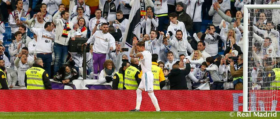 cebf6c17e Sergio Ramos calls on the fans for support ahead of the PSG game ...