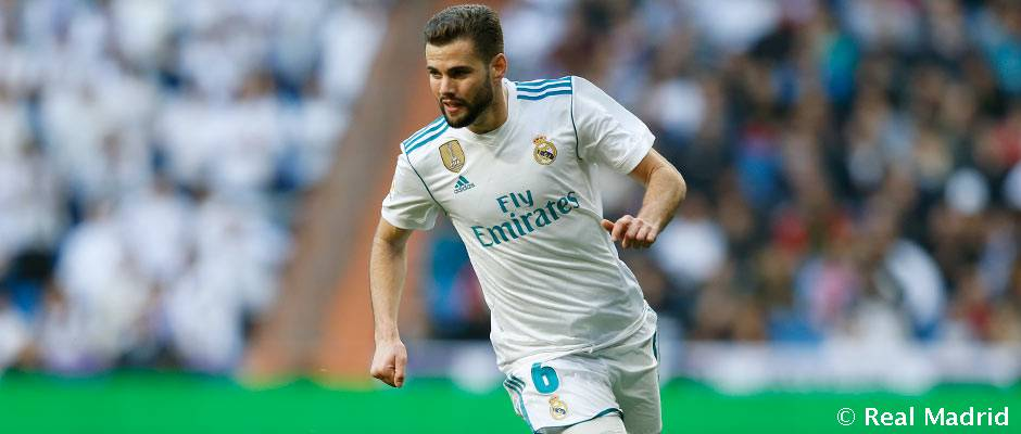 Nacho is the defender to have featured the most this season