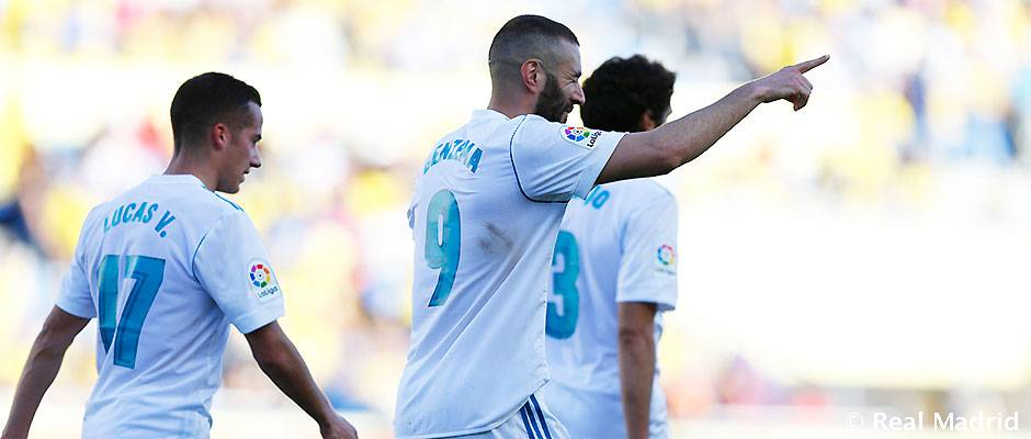 Benzema nets on his 400th Real Madrid appearance