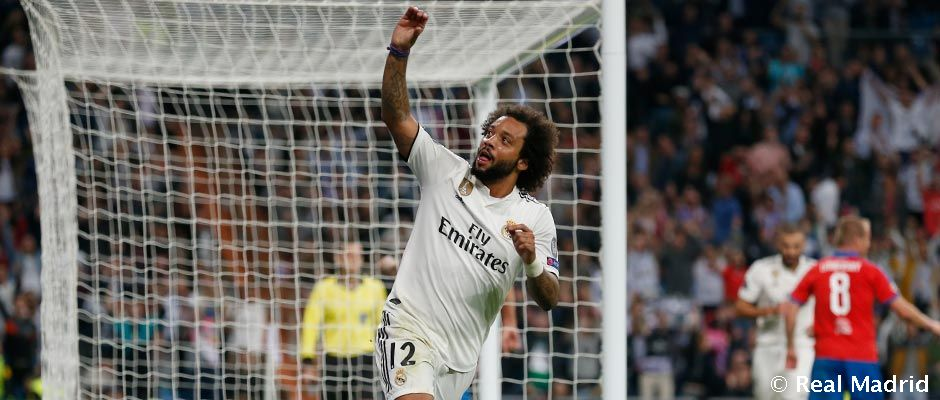 Marcelo, a key player: all of his goals in Europe