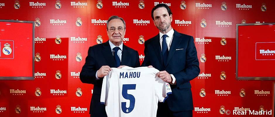 Real Madrid y Mahou extrañan su contrato de patrocinio