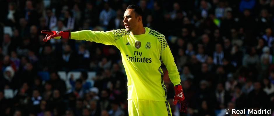 buy popular f226b b0c5c Keylor Navas: 50 partidos de Liga con el Real Madrid