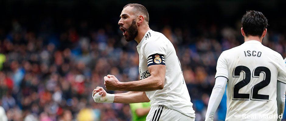 Benzema so'nggi 3 o'yinda 4 ta gol kiritdi
