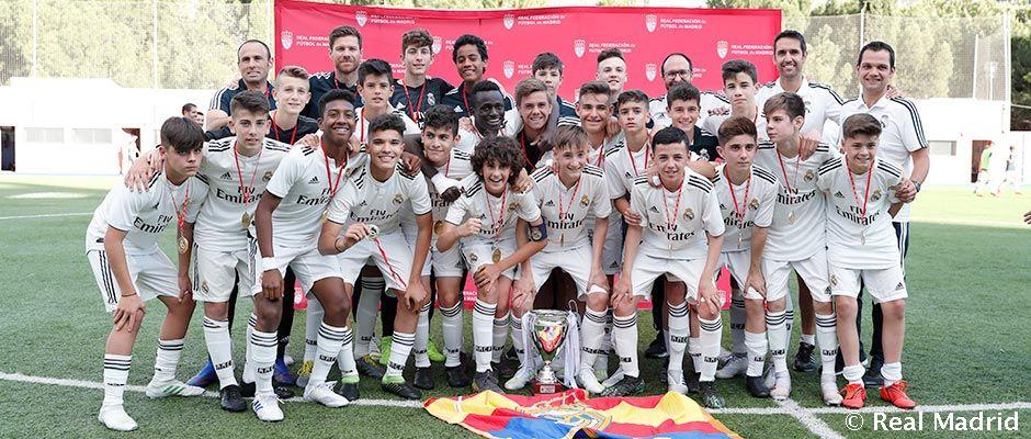 El Infantil A, ganador del Torneo de Campeones