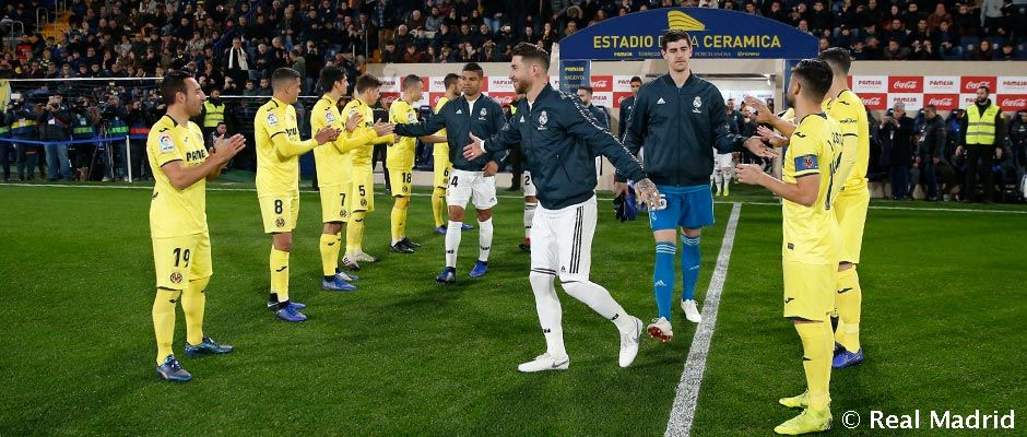 Villarreal Pay Tribute To The World Champions Real Madrid CF