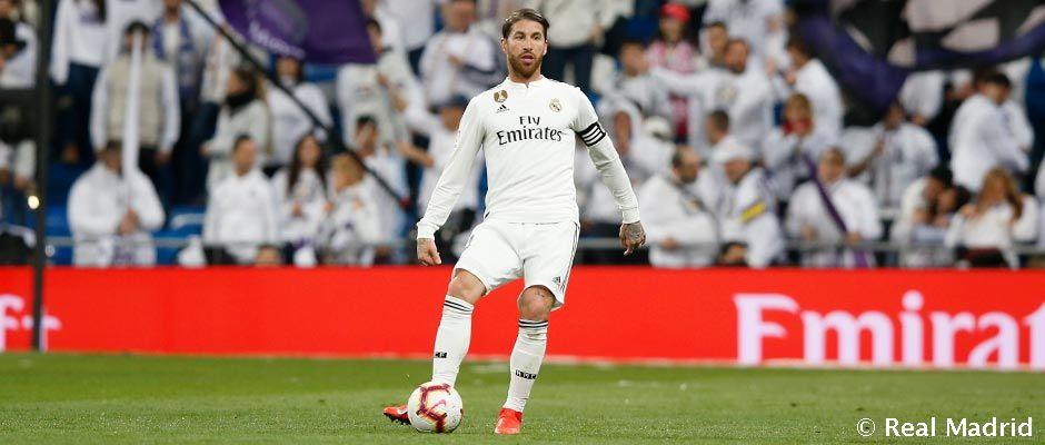 Ramos El Septimo Madridista Con Mas Partidos De Liga