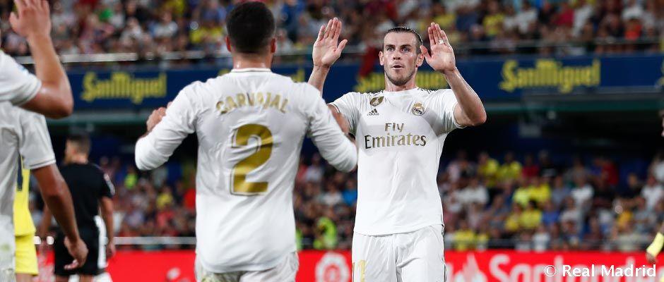 Nine madridistas have provided assists so far