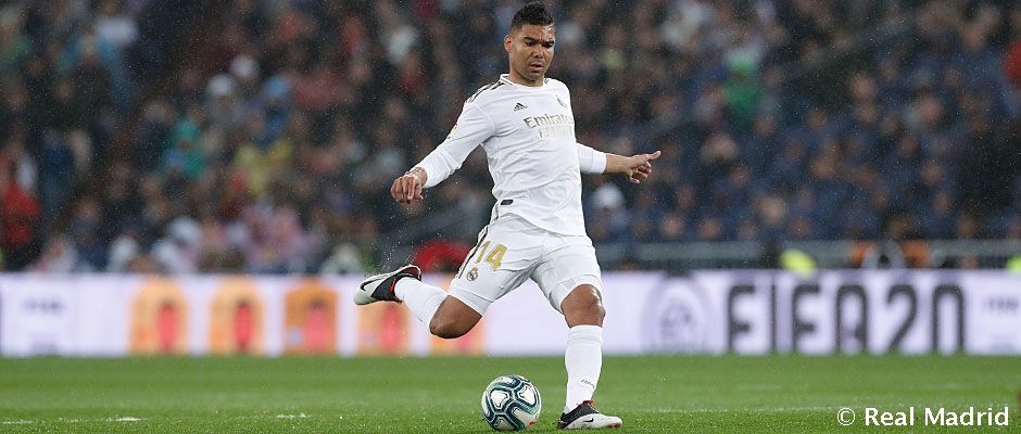 Casemiro, makes it 100 competitive wins for Real Madrid