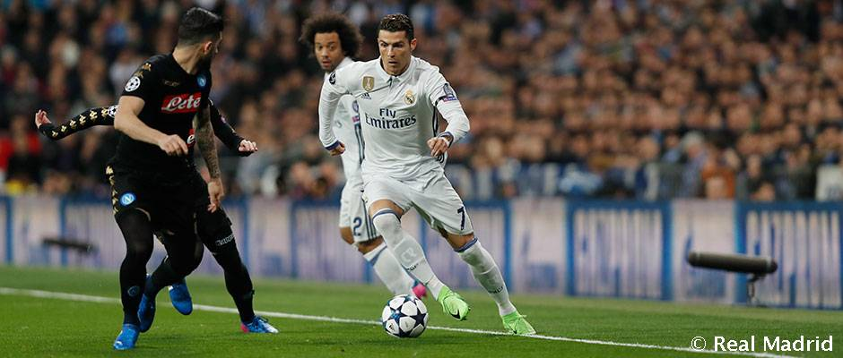 Real Madrid comes from behind to beat Italy's SSC Napoli