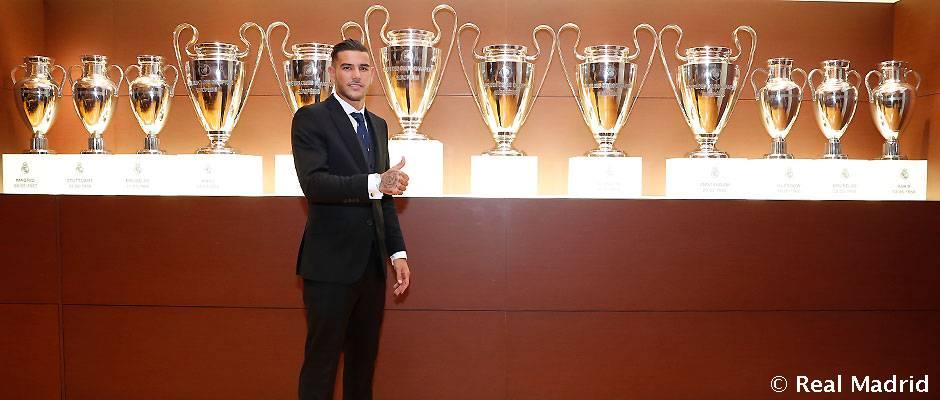 Presentación de Theo como jugador del Real Madrid