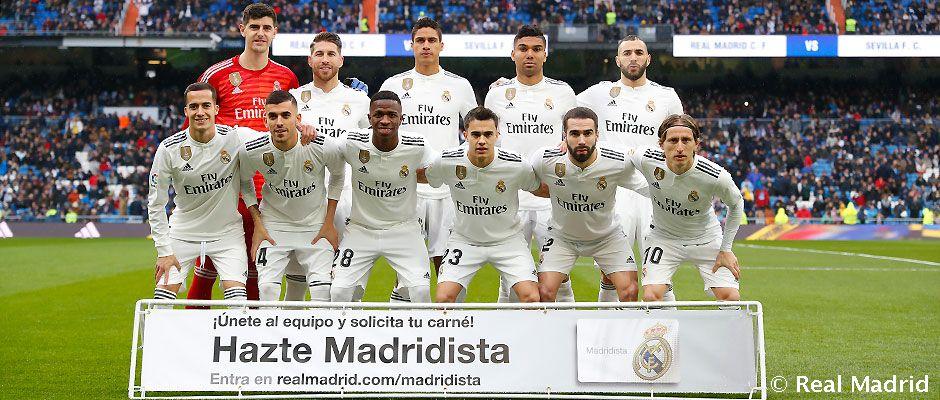 Real Madrid Sevilla La Liga Jornada 20 Real Madrid Cf