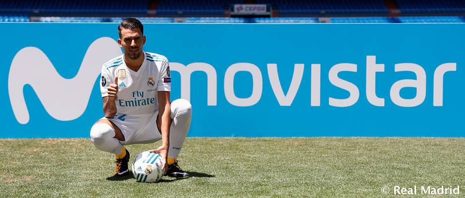 62dabef391d Dani Ceballos pisó el cesped del Santiago Bernabéu