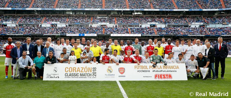 Ya se pueden comprar las entradas para el Corazón Classic Match en las  taquillas del Bernabéu 5208df83a8f3e