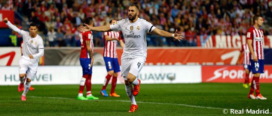 Benzema so'nggi 14 da derbida qatnashgan yagona futbolchi