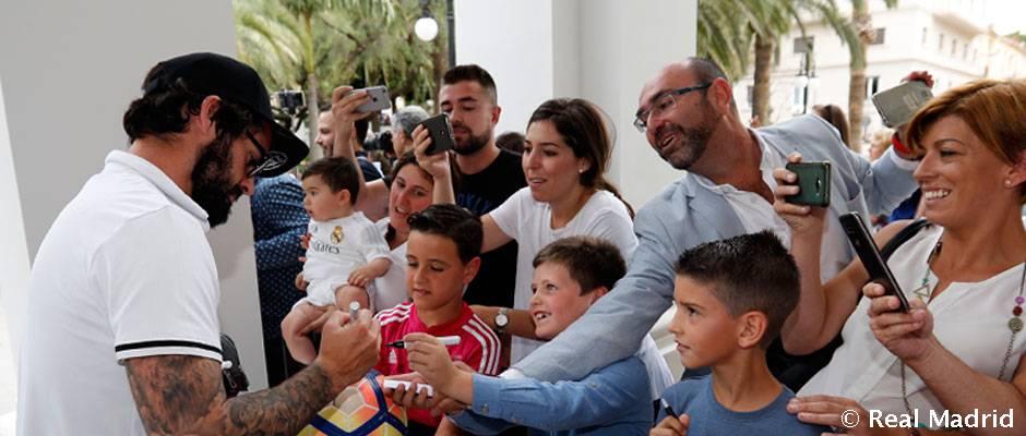 Futbolchilarimiz Malaga shahriga yetib keldilar