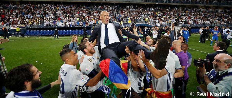 Zidane This Is My Happiest Day As A Coach Real Madrid Cf
