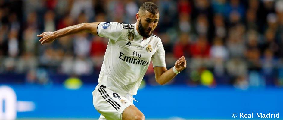 Benzema has now scored in all competitions