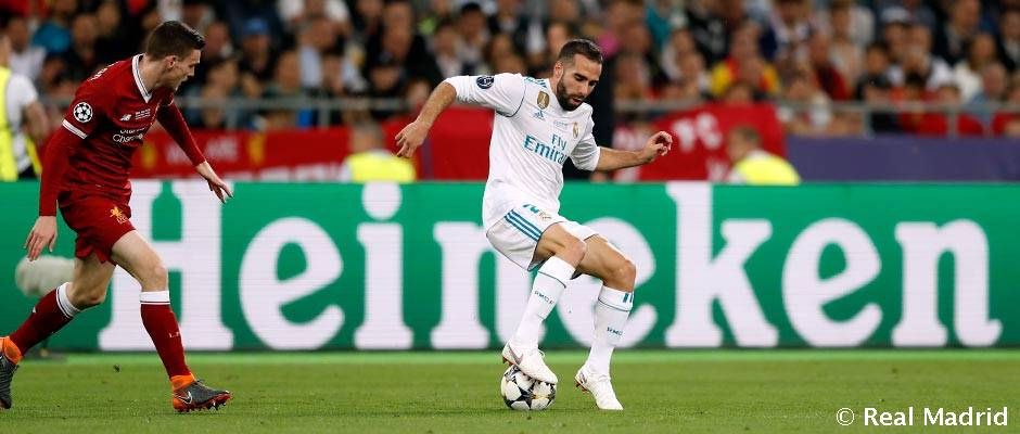 Carvajal: 200 Real Madrid games