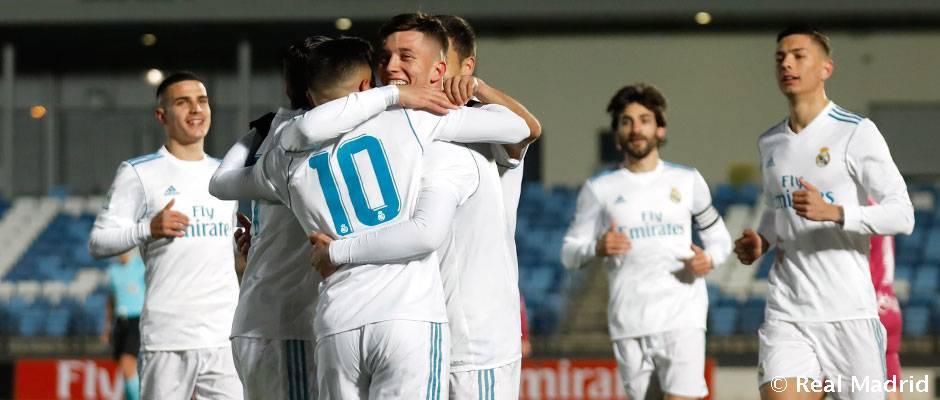 Castilla valladolid b el castilla golea en su ltimo for Ultimo partido del real madrid
