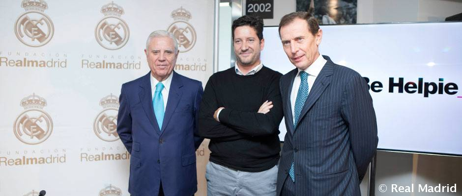 Acuerdo entre la Fundación del Real Madrid y Be Helpful