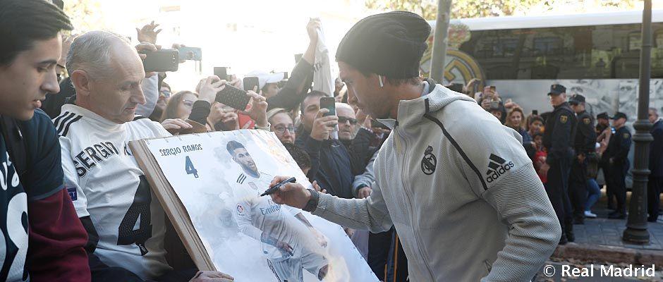 Así Fue La Llegada Del Real Madrid A Valencia Real Madrid Cf