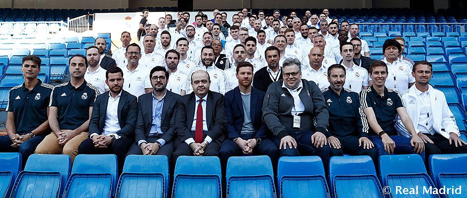 Coaching convention Fundación Real Madrid