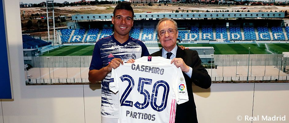 Casemiro Makes th Real Madrid Appearance Real Madrid CF