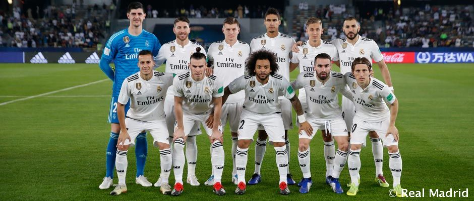 Real Madrid s starting line-up for the Club World Cup final  fa58bb385