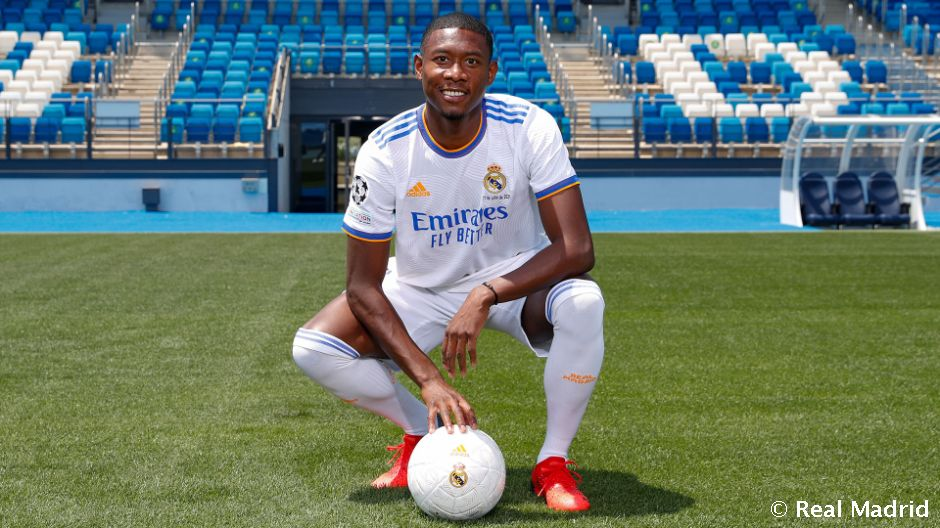Alaba signs for Real Madrid   Real Madrid CF