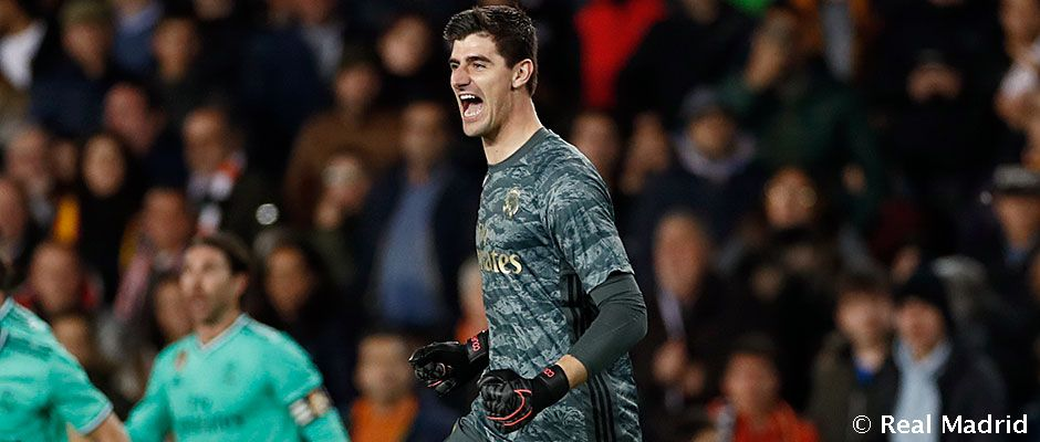 Courtois Voted LaLiga's Best Player In January