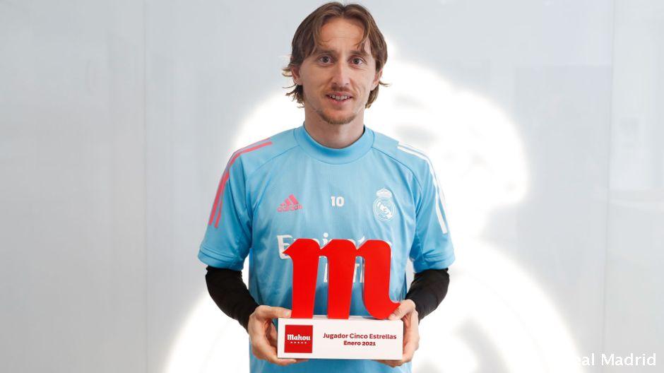 Luka Modrich dekabr oyining eng yaxshi futbolchisi deb topildi