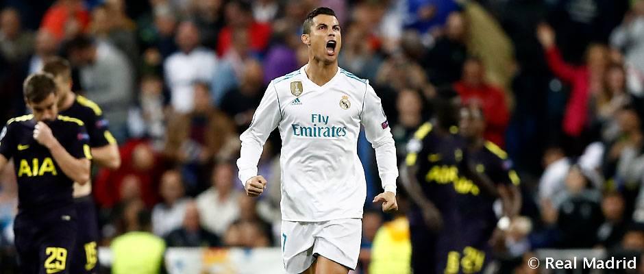 Cristiano Ronaldo  50 Champions League goals at the Bernabéu  338c8e07c