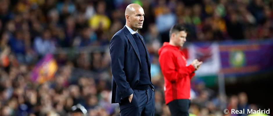 "Zidane: ""It was a good Clásico, high intensity and chances"" 